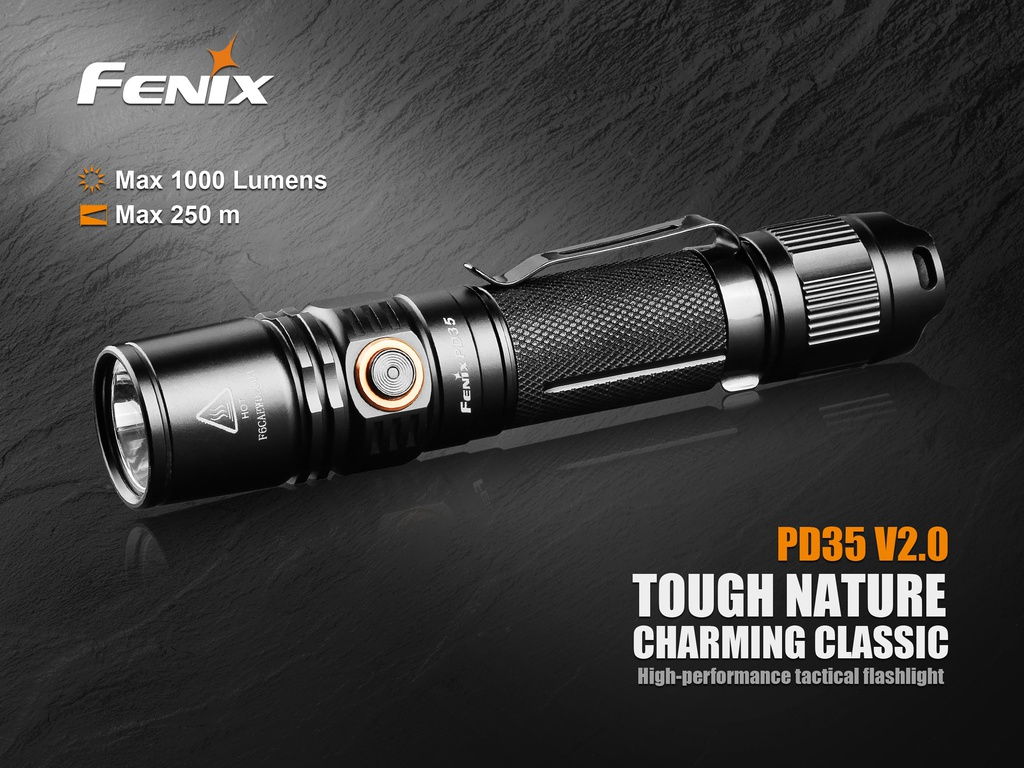 PD35 V2.0 Tactical Flashlight