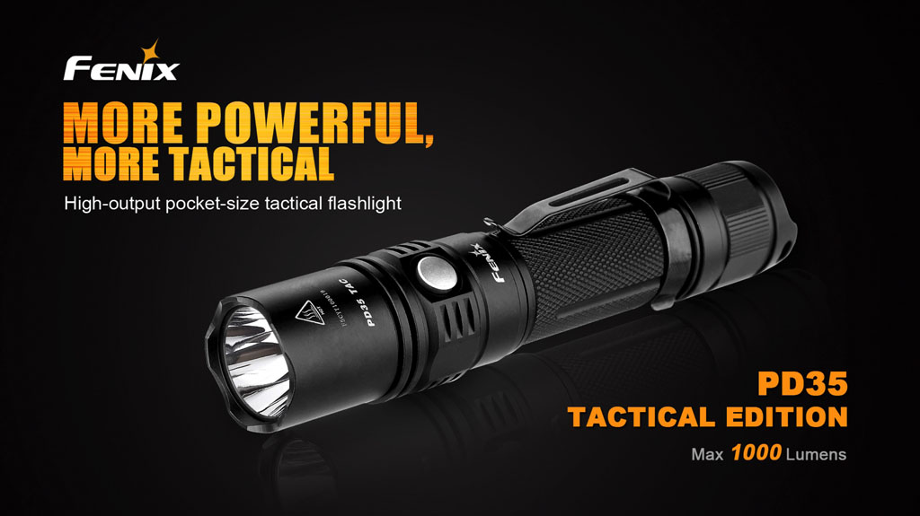 PD35 TAC Tactical Edition Flashlight