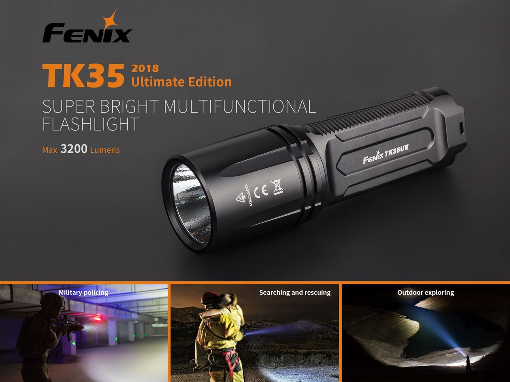 TK35UE 2018 Ultimate Edition High-Output Flashlight